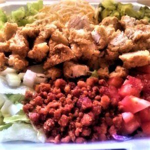 lsfc crispy chicken salad