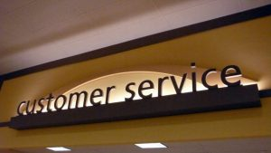customer svc sign