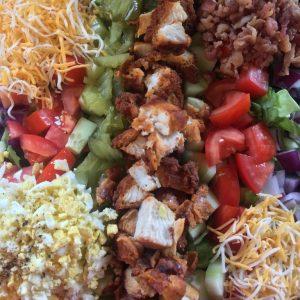 lukes soul food cafe crispy fried chicken salad
